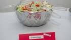 Kabultec 2016 benefit dinner. Salata: Garden salad