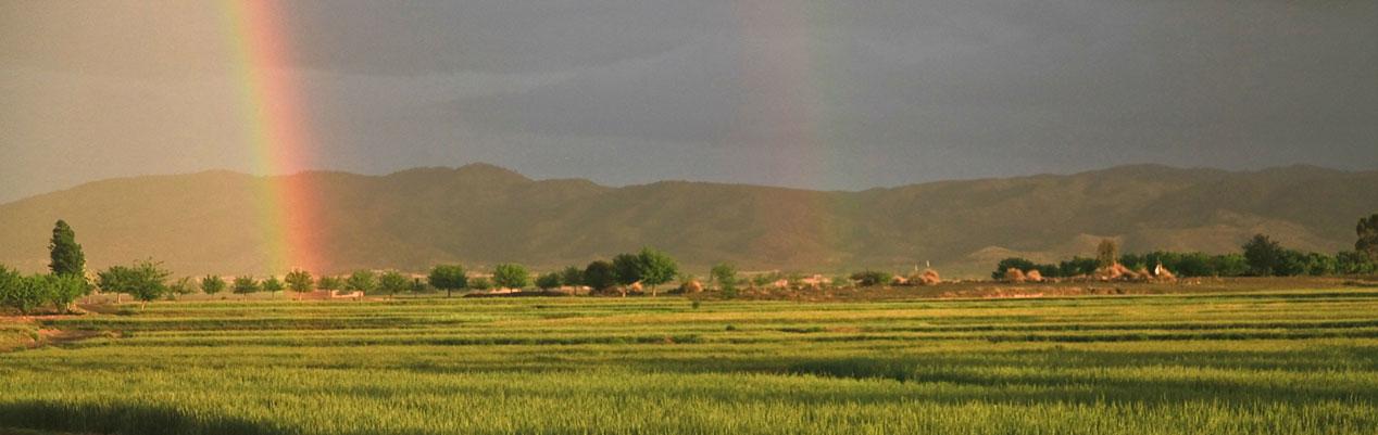 Afghanistan rainbow